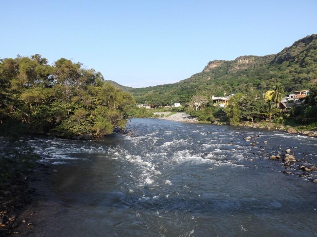 Vista sobre el río Jalcomulco