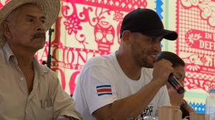 El compañero del Movimiento Pro Ríos compartió la experiencia tica
