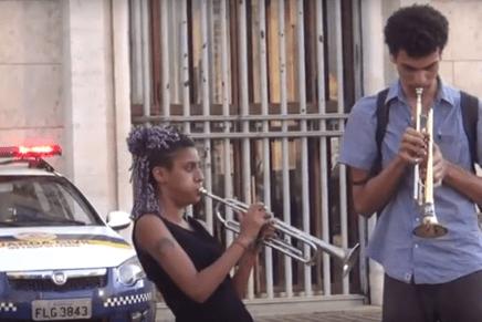 Samba de la resistencia contra la limpieza social en Sâo Paulo