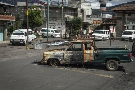 La crisis de Nahuatzen: «el Estado no sabe la bestia que despertó»