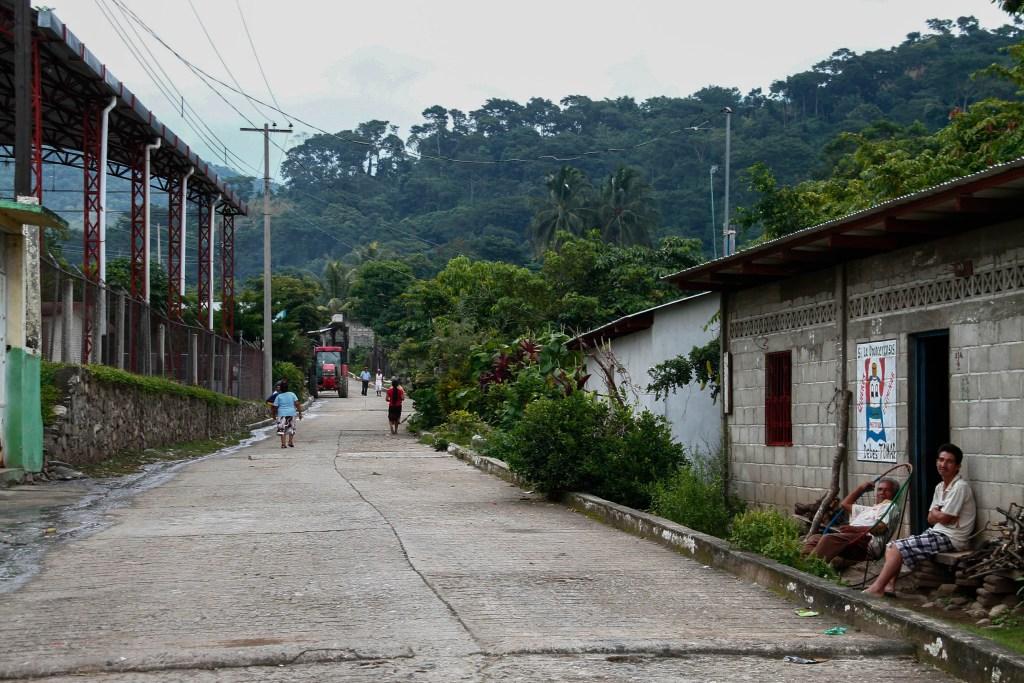Chiapas afectada por la minería. Fotografía: Santiago Navarro F.