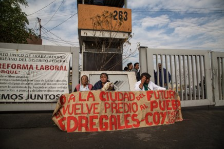 «Nuestra lucha va más allá de una casa, es por nuestra historia»: Pedregales de Coyoacán