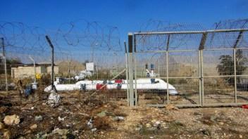 Esta tubería de agua abastecía algunas comunidades palestinas. En 1972, Israel la cortó, reduciendo su capacidad. Fotografía: Susana Norman