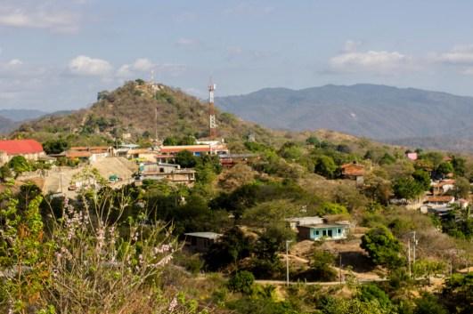 Vista de Santiago Tututepec, en la región de la Costa Chica en Oaxaca. Por Aldo Santiago.