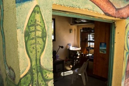 La cabina. Por Regina López.