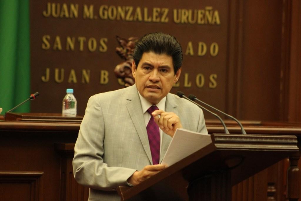 Diputado Arreola. Fotografía: Rodrigo Caballero