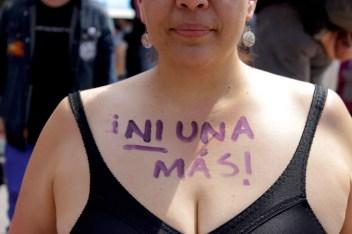 «Una mujer que se pinta una consigna en el cuerpo desnudo nunca vuelve a ser la misma»