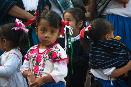 """«La """"reconstitución de nuestro territorio"""", no quiere decir que hay que ir a plantar árboles nada más. Quiere decir 'cuidar nuestra identidad'[...]» Nos comentó Don Guadalupe Tehandon. Por Romeo LopCam."""