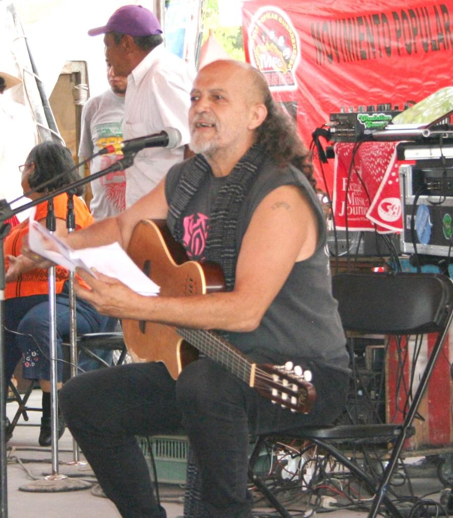 Francisco Barrios, «El Mastuerzo». Fotografía: Ariadna Ramonetti