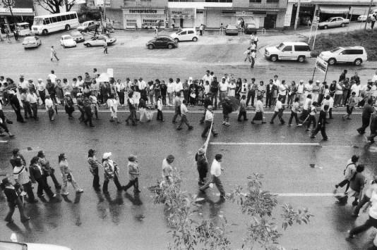 Mega Marcha, Oaxaca, 2006. Foto de Pauline Rosen Cros