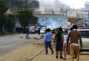 Oaxaca, 19.06.2016. Foto por Xiaj Nikte
