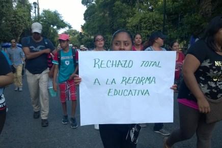 Representación de la CNTE en Morelos: «La lucha ahora es popular»