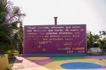 En memoria de Salvador Allende.