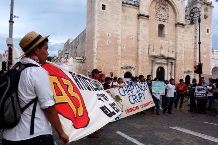 Dos años de Ayotzinapa: Mérida sale a las calles