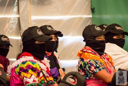Acciones en solidaridad con el Ejército Zapatista de Liberación Nacional y con el Congreso Nacional Indígena se replicarán en países.