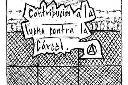 Desde el interior de la lucha anticarcelaria: cartas de Fernando Barcenas