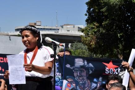 La no-candidata en campaña en México: Marichuy