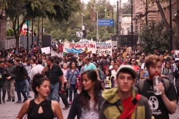 Marcha conmemorativa del 2 de octubre. 2017. Por Elis Monroy-16