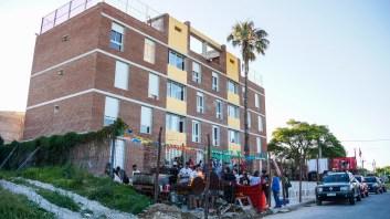 Inauguración de la cooperativa Che Guevara, Coviche