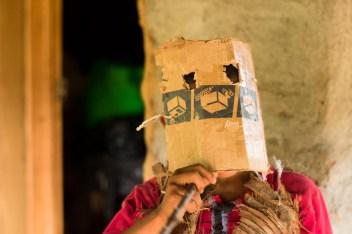 Xayakalan toma su nombre de los xayacates: las máscaras.