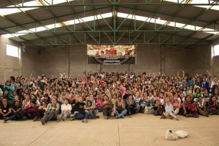 Encuentro Nacional de Mujeres del CIG-CNI: alianza y sanación entre mujeres que luchan