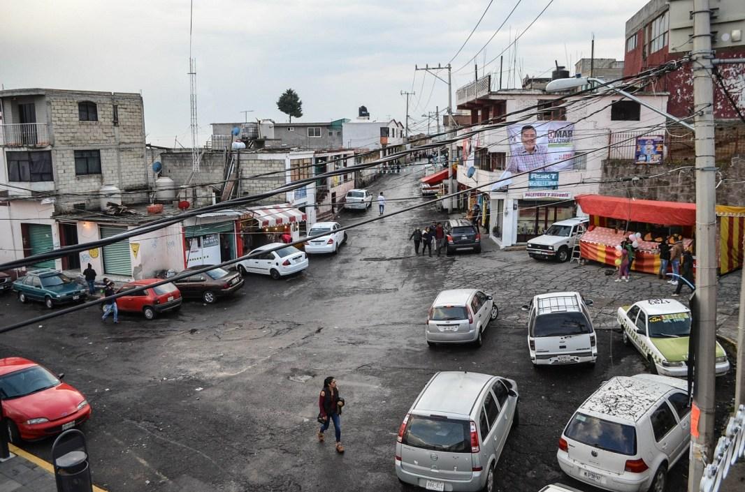 02 Centro de Santiago Tlacotepec, delegación con mayor extensión territorial de las 47 que conforman Toluca. Fotografía José Luis Santillán.