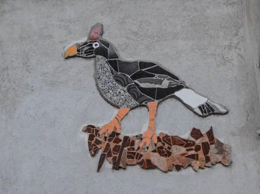 04.- En estos murales se retrata la vida silvestre del volcán y la importancia de cuidarlo. Fotografía José Luis Santillán.