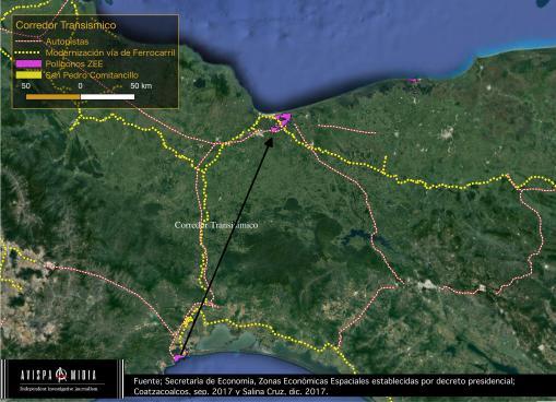 Corredor Transismico Salina Cruz-Cotazacoalcos
