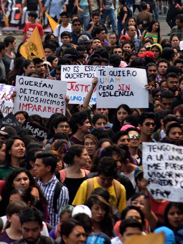 Imparables / Aurea Itandehui Ramírez Salir a gritar contra la violencia, salir a gritar contra la inseguridad, salir a gritar contra las autoridades por no tener una empatía con las y los afectadas de las agresiones causadas por los grupos de choque.