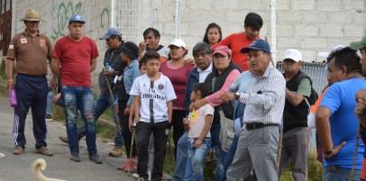Comunidad indígena Otomí San Francisco Xochicuautla, Municipio de Lerma. Estado de México. 26 de Abril 2019. Fotografía: Tonatiuh Cárdenas