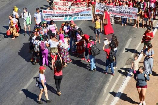 Mujeres indígenas y quilombolas. Por Itandehuy Castañeda.