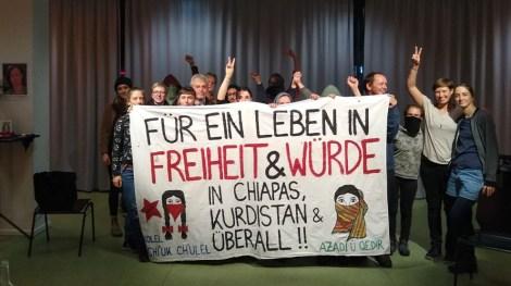 Desde el evento Utopías Feministas, en la Ciudad de Hannover, Alemania.