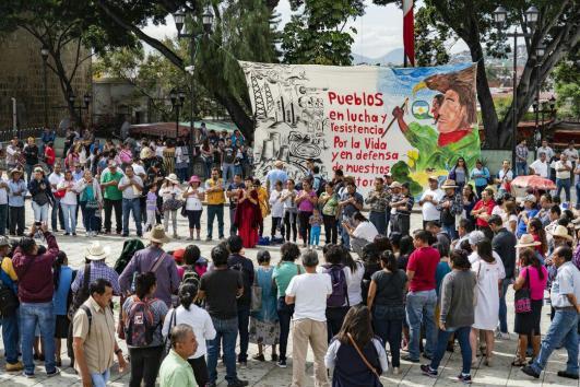 Ciudad de Oaxaca, México. Foto por Avispa Midia.