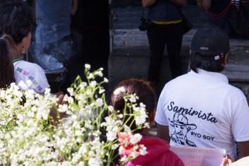 """Yo soy samirista"". Foto por Regina López."