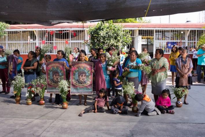 """""""Samir sigue renaciendo en cada comunidad en la que sembró resistencia"""". Foto por Regina López."""