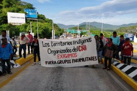 Boletín de prensa. Caravana nacional por una vida digna para los pueblos indígenas.