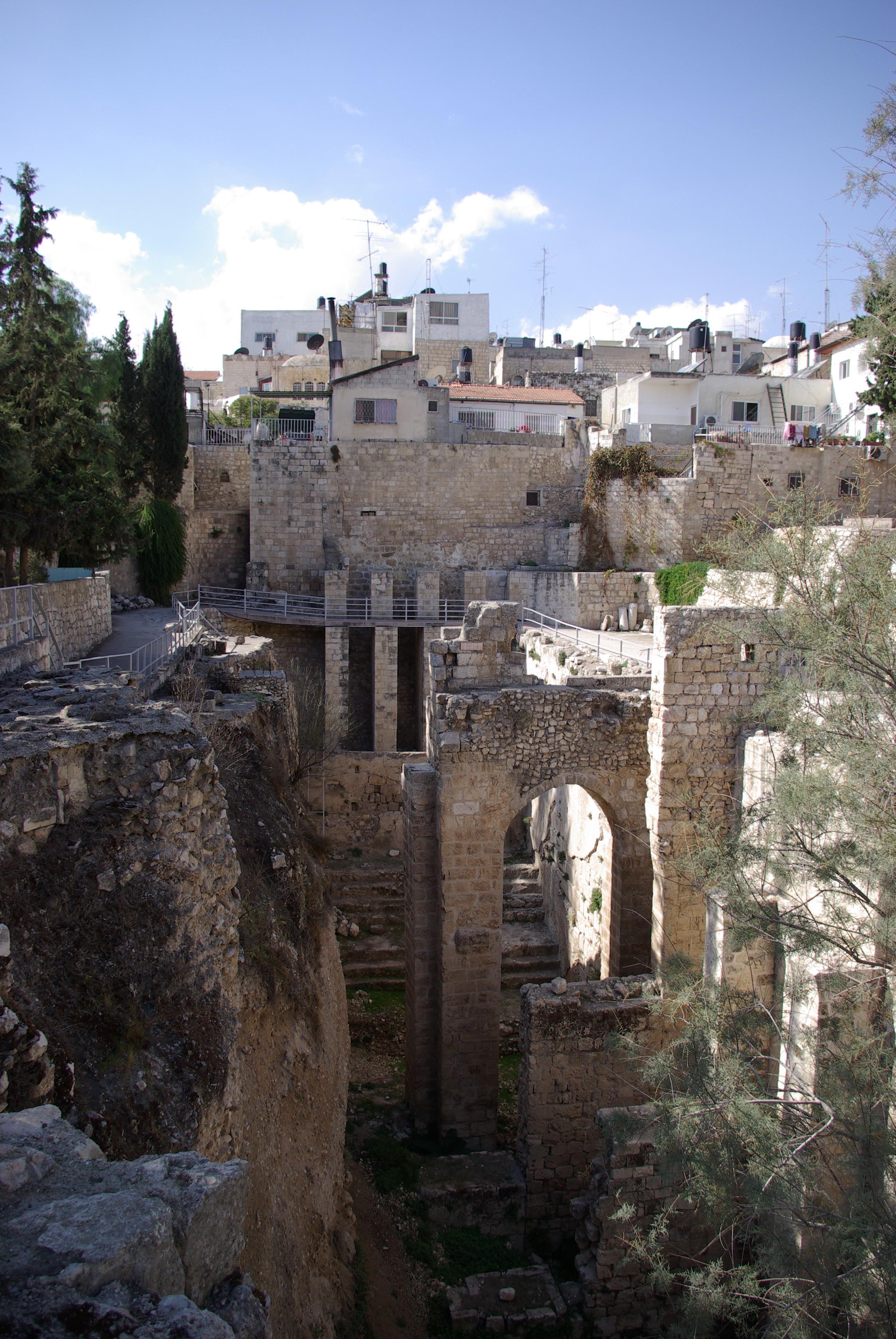 Jerusalem_Bethesda_BW_1