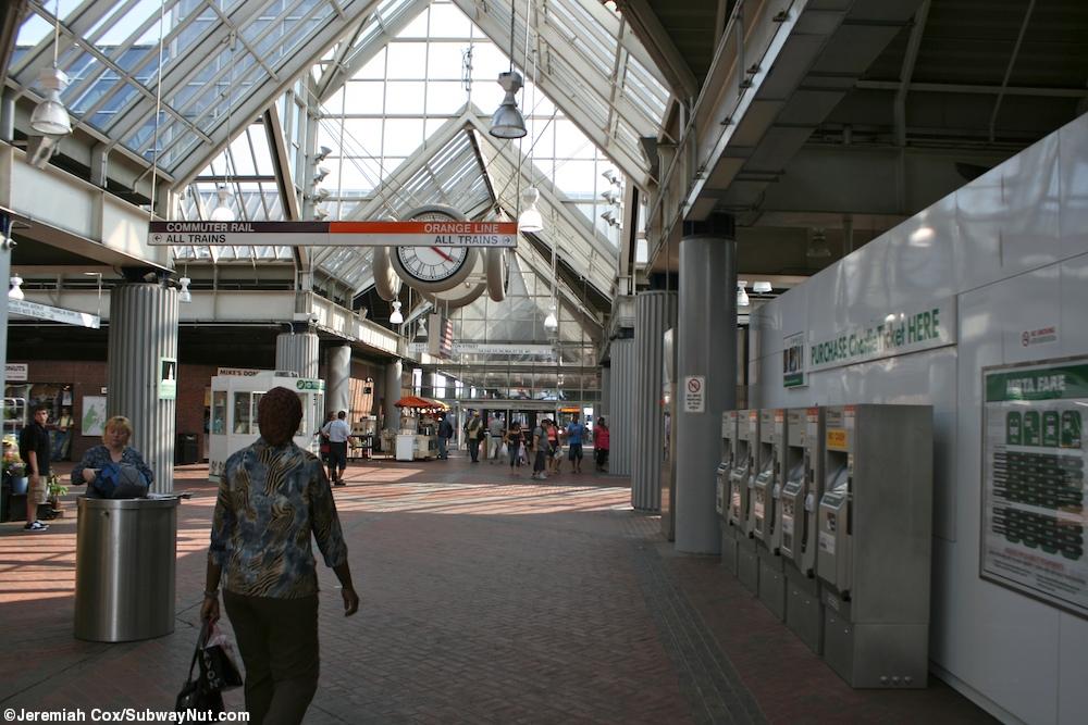 Rail Station South Mbta Commuter