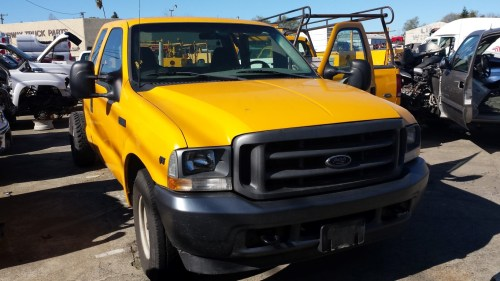 small resolution of parting out 2002 ford f250 2wd 5 4l v8 4r100 automatic