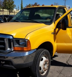 parting out 1999 ford f450 2wd 7 3l powerstroke turbo diesel zf s 650 manual [ 1365 x 768 Pixel ]
