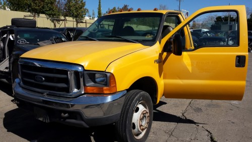 small resolution of parting out 1999 ford f450 2wd 7 3l powerstroke turbo diesel zf s 650 manual