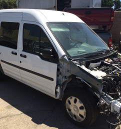 parting out 2013 ford transit connect van 2 0l 8 301 original miles [ 1440 x 1080 Pixel ]