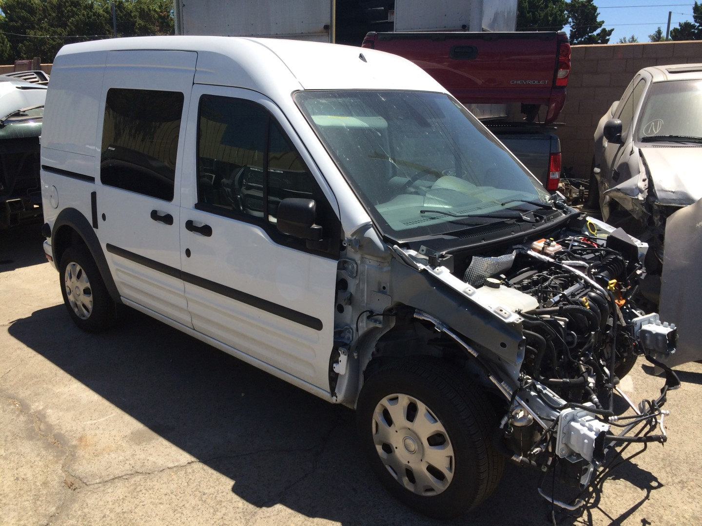 hight resolution of parting out 2013 ford transit connect van 2 0l 8 301 original miles