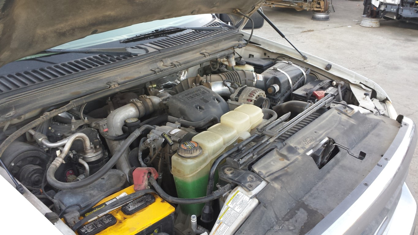 hight resolution of used parts 1999 ford f350 7 3l powerstroke turbo diesel zf s 650 manual transmission