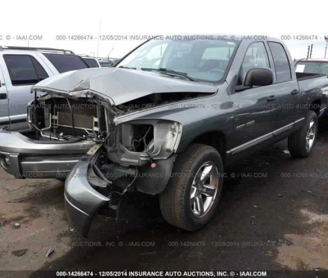 Used Parts 2007 Dodge Ram  7l V 45rfe Auto