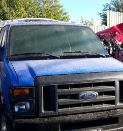 used parts 2013 ford e350 cargo van 5 4l v8 4r75e automatic [ 1365 x 768 Pixel ]