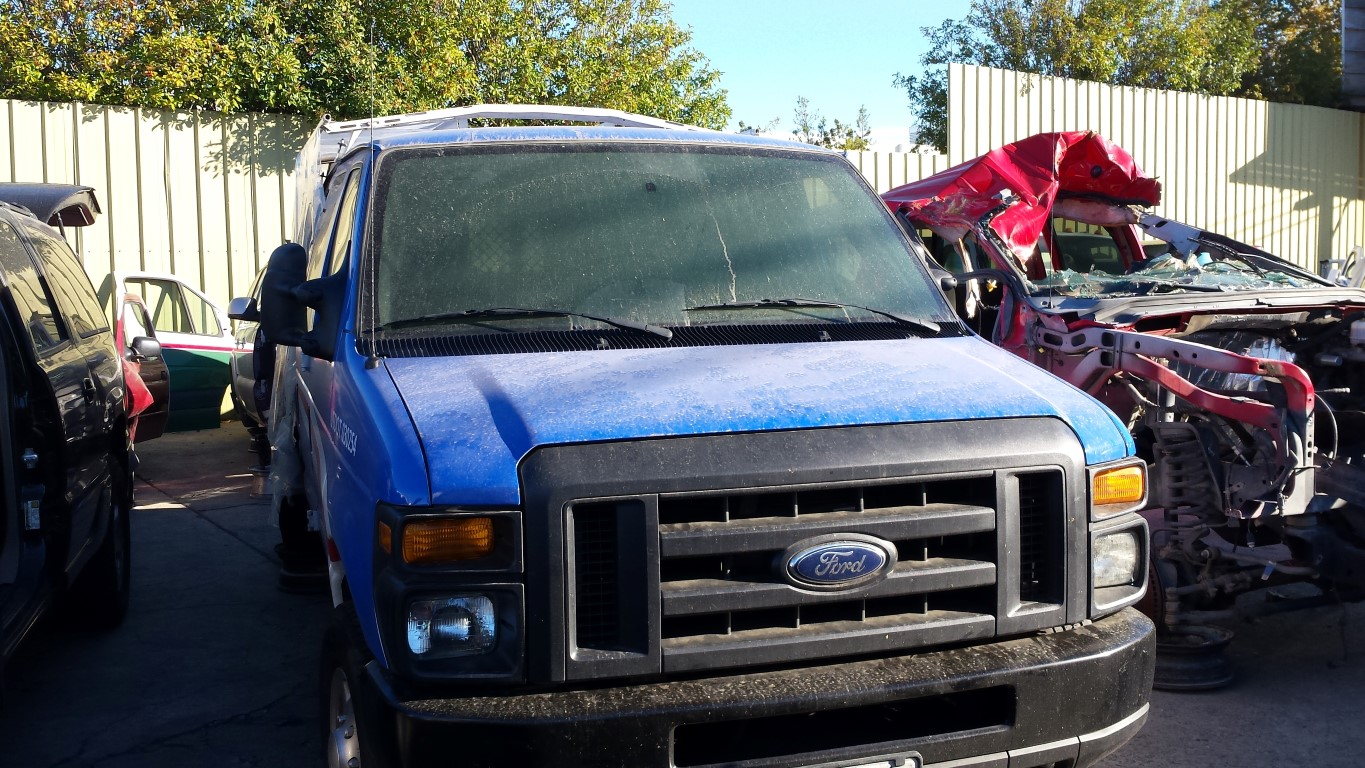 hight resolution of used parts 2013 ford e350 cargo van 5 4l v8 4r75e automatic
