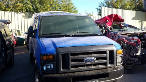 small resolution of used parts 2013 ford e350 cargo van 5 4l v8 4r75e automatic