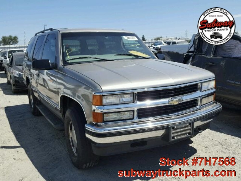 medium resolution of used parts 1999 chevrolet tahoe lt 5 7l 4 4