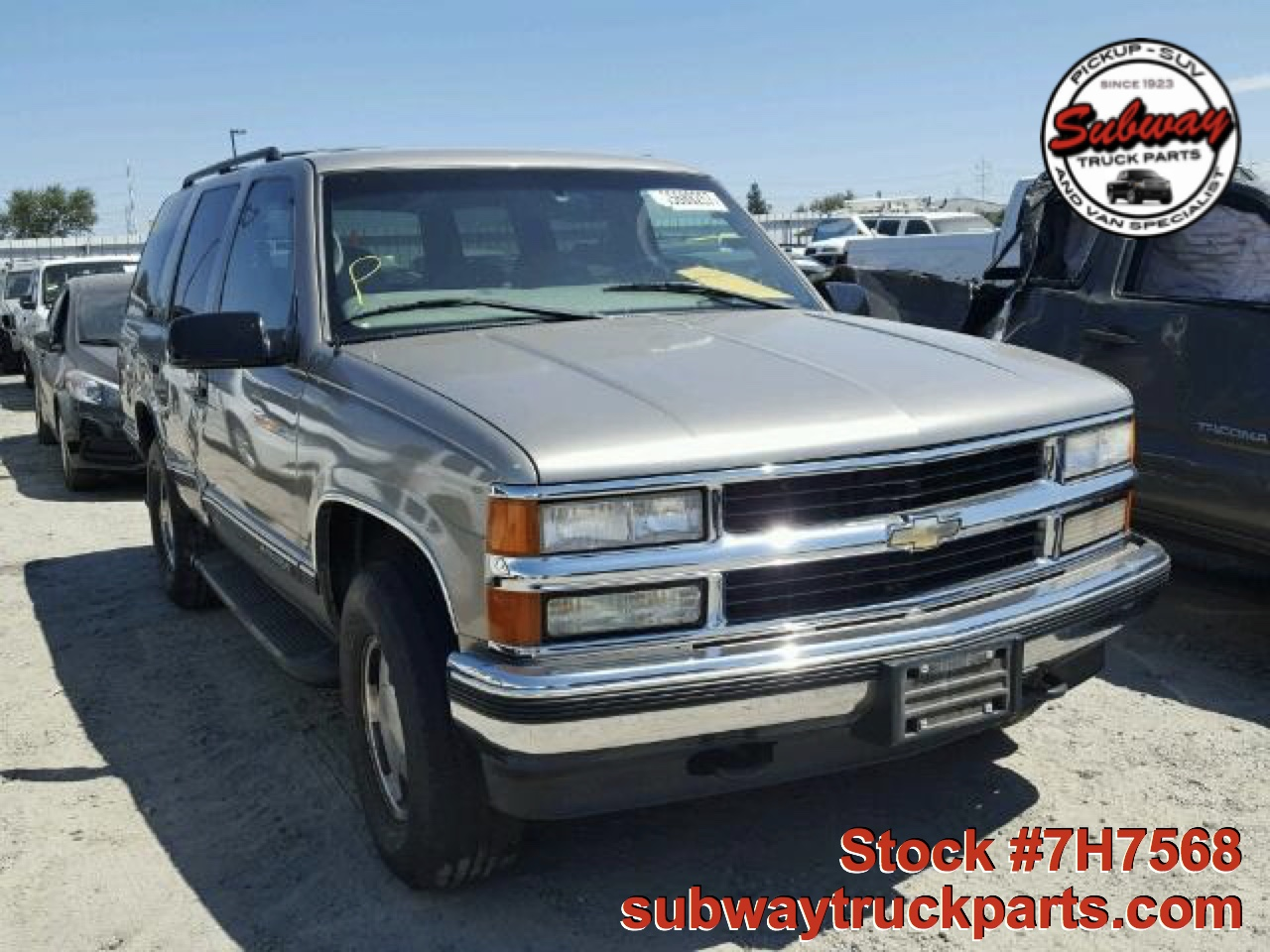hight resolution of used parts 1999 chevrolet tahoe lt 5 7l 4 4